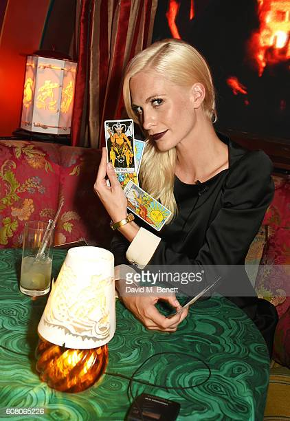 Poppy Delevingne attends LOVE Magazine and Marc Jacobs LFW Party to celebrate LOVE 165 collector's issue of LOVE and Berlin 1989 at Loulou's on...