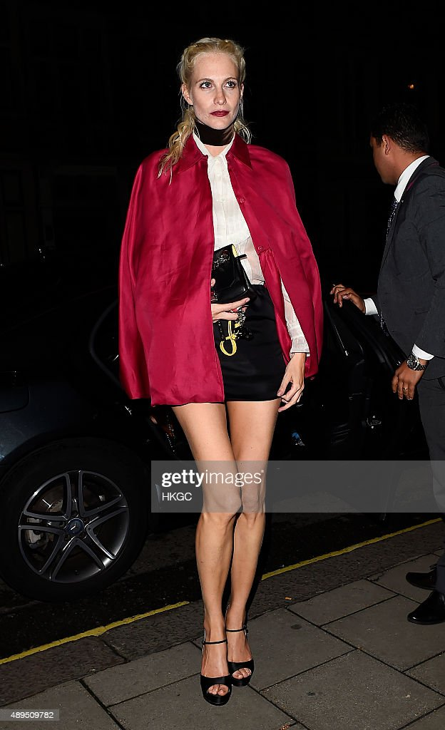 London Celebrity Sightings -  September 21, 2015 : News Photo