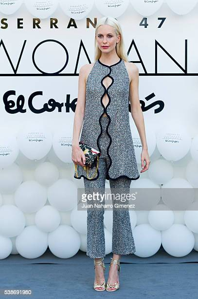 Poppy Delevingne attends 'Serrano 47 Woman' presentation at El Corte Ingles on June 7 2016 in Madrid Spain