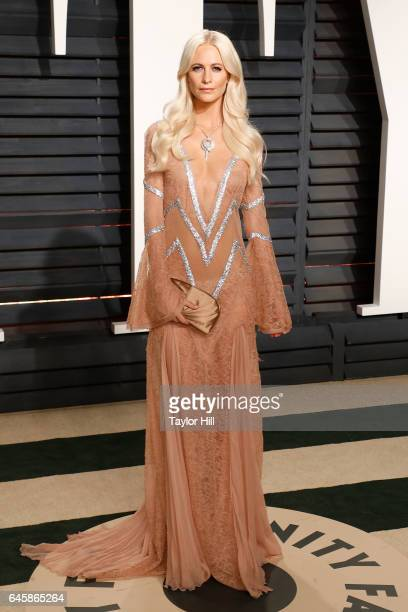 Poppy Delevingne attends the 2017 Vanity Fair Oscar Party at Wallis Annenberg Center for the Performing Arts on February 26 2017 in Beverly Hills...