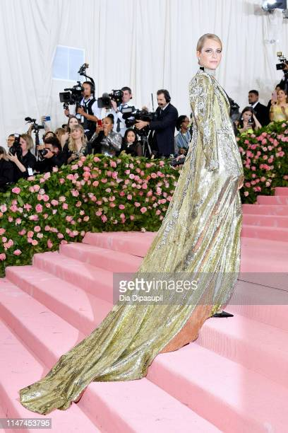 Poppy Delevingne attends The 2019 Met Gala Celebrating Camp: Notes on Fashion at Metropolitan Museum of Art on May 06, 2019 in New York City.