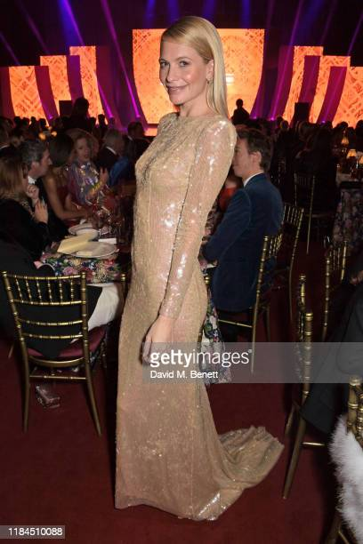 Poppy Delevingne attends the 65th Evening Standard Theatre Awards in association with Michael Kors at the London Coliseum on November 24, 2019 in...