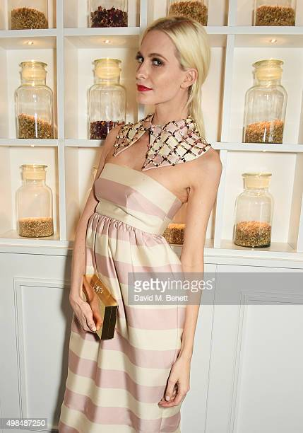 Poppy Delevingne attends the British Fashion Awards official afterparty hosted by St Martins Lane and sponsored by Ciroc Vodka at St Martins Lane on...