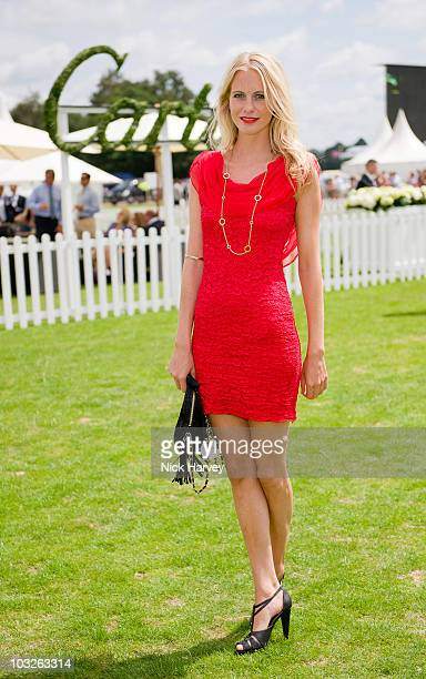 Poppy Delevingne attends the Cartier International Polo Day at Guards Polo Club on July 25 2010 in Egham England