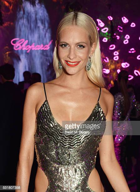 Poppy Delevingne attends the Chopard Wild Party during the 69th Annual Cannes Film Festival at Port Canto on May 16 2016 in Cannes