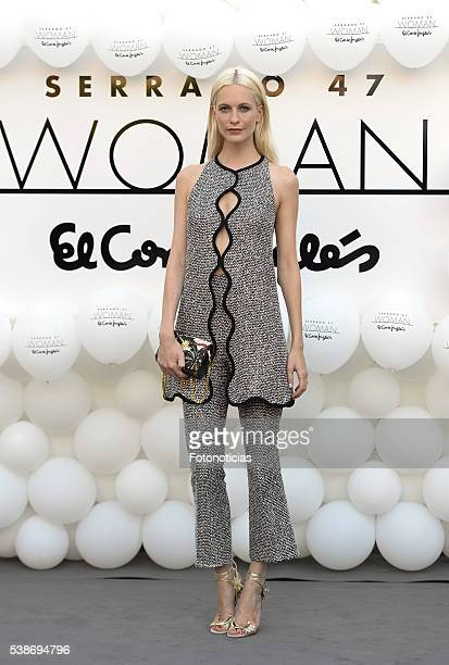 Poppy Delevingne attends the El Corte Ingles 'Serrano 47 Women' presentation on June 7 2016 in Madrid Spain