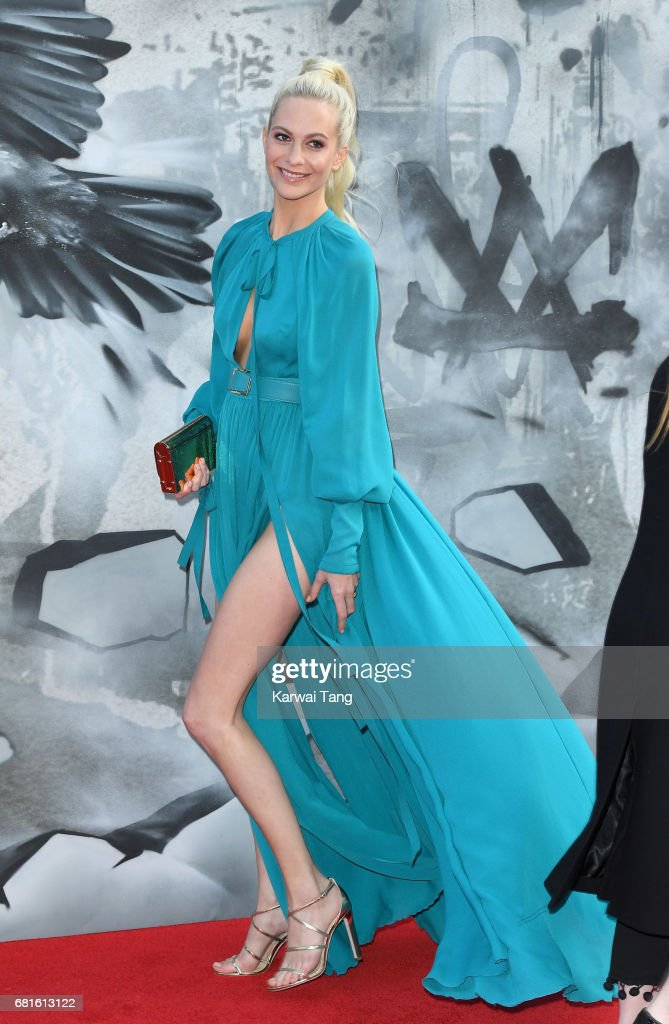 Poppy Delevingne attends the European premiere of 'King Arthur: Legend of the Sword' at Cineworld Empire on May 10, 2017 in London, United Kingdom.