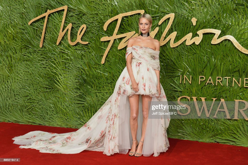 Poppy Delevingne attends The Fashion Awards 2017 in partnership with Swarovski at Royal Albert Hall on December 4, 2017 in London, England.