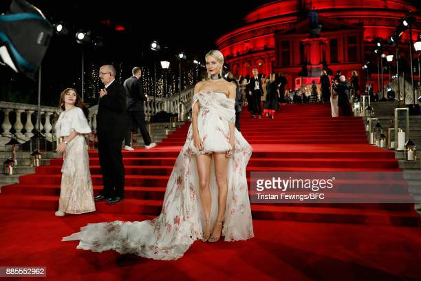 Poppy Delevingne attends The Fashion Awards 2017 in partnership with Swarovski at Royal Albert Hall on December 4 2017 in London England
