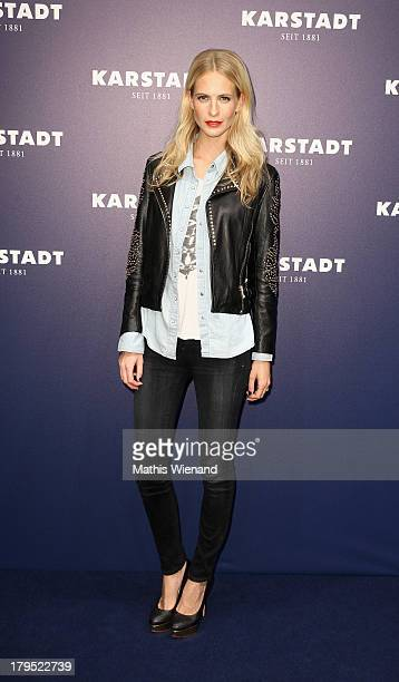 Poppy Delevingne attends the 'Feel London By Karstadt' Launch Event at Karstadt Store Duesseldorf on September 4 2013 in Dusseldorf Germany