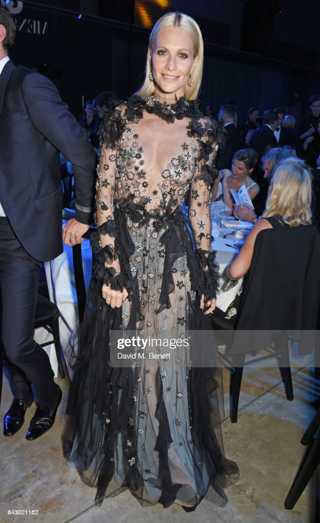Poppy Delevingne attends the GQ Men Of The Year Awards at the Tate Modern on September 5, 2017 in London, England.