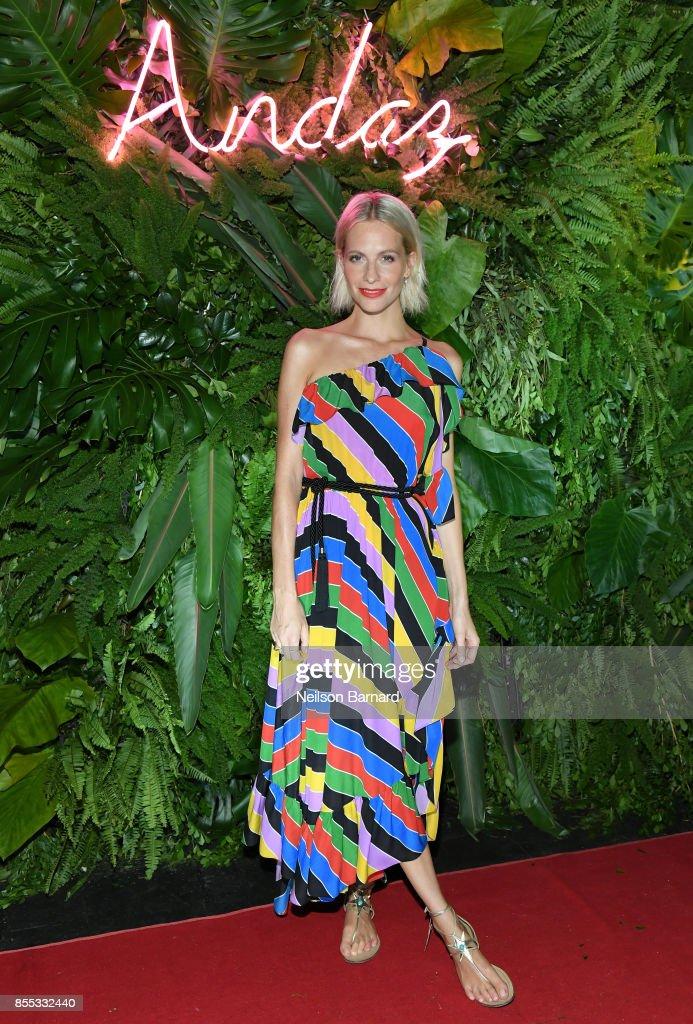 Poppy Delevingne attends Andaz Mayakoba Resort Riviera Maya's Grand Opening Celebration