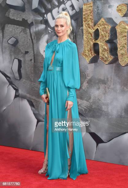 Poppy Delevingne attends the 'King Arthur Legend of the Sword' European premiere at Cineworld Empire on May 10 2017 in London United Kingdom