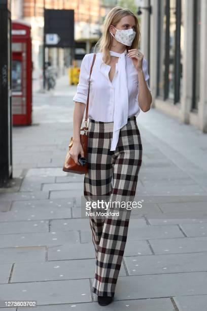 Poppy Delevingne attends the LFW September 2020 : Harvey Nichols x My Wardrobe HQ VIP breakfast and panel discussion at Harvey Nichols on September...