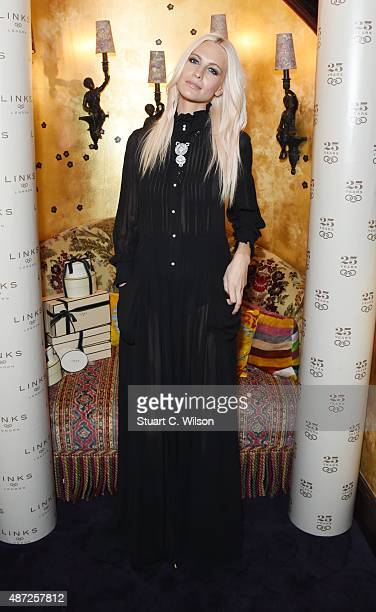 Poppy Delevingne attends the Links Of London 25th Anniversary Event at Loulou's on September 7 2015 in London England