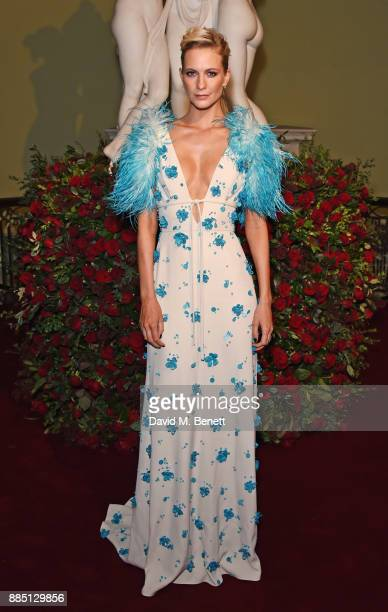 Poppy Delevingne attends the London Evening Standard Theatre Awards 2017 at the Theatre Royal Drury Lane on December 3 2017 in London England