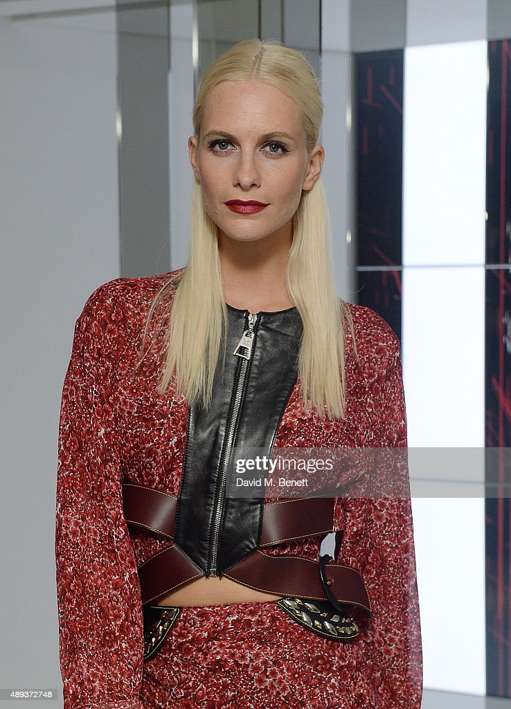 Poppy Delevingne attends the Louis Vuitton Series 3 VIP launch during London Fashion Week SS16 on September 20, 2015 in London, England.