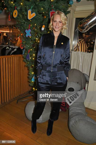 Poppy Delevingne attends the Love x Chaos x Poppy Delevingne x Moet Christmas Party at George on December 12 2017 in London England