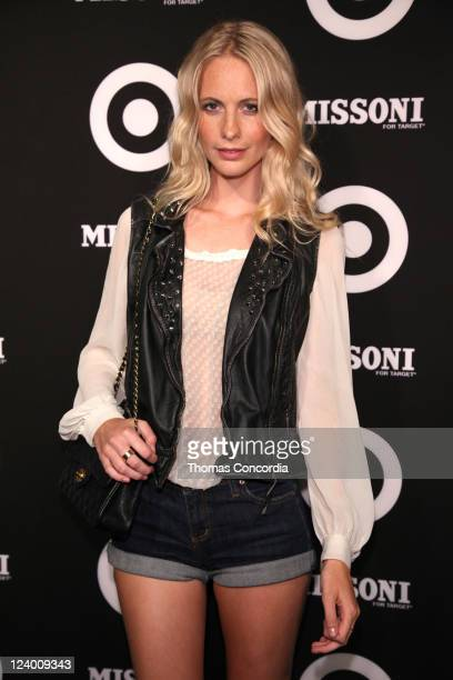 Poppy Delevingne attends the Missoni for Target Private Launch Event on September 7 2011 in New York City