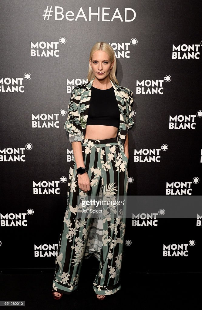 Montblanc Summit Launch Event At The Ledenhall Building - Photocall