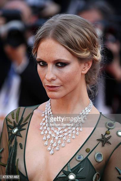 Poppy Delevingne attends the Premiere of Carol during the 68th annual Cannes Film Festival on May 17 2015 in Cannes France