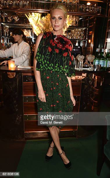 Poppy Delevingne attends the Rodial dinner hosted by Poppy Delevingne and Maria Hatzistefanis at Casa Cruz on January 16 2017 in London England