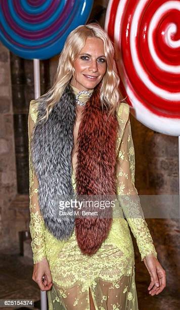 Poppy Delevingne attends the Save The Children Winter Gala at The Guildhall on November 22 2016 in London England
