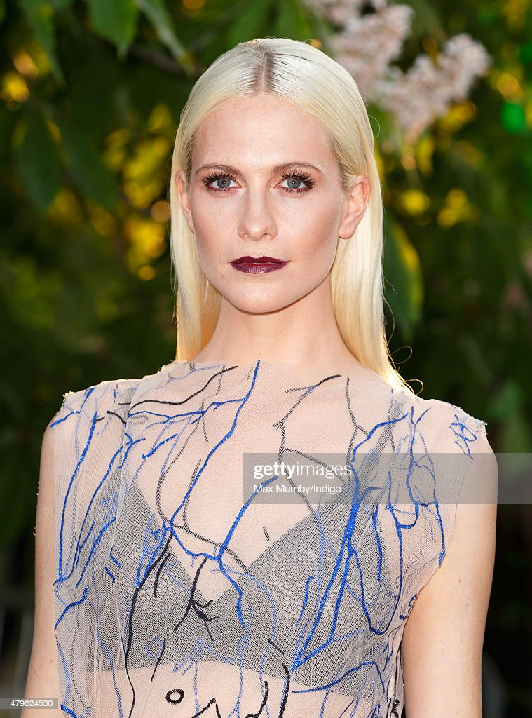 Poppy Delevingne attends the Serpentine Gallery Summer Party at The Serpentine Gallery on July 2, 2015 in London, England.