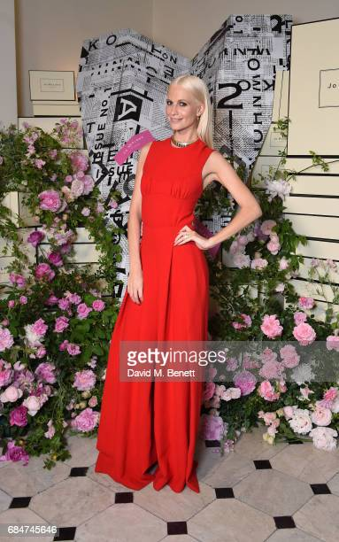 Poppy Delevingne attends 'The Talk Of The Townhouse' hosted by JO MALONE LONDON on May 18 2017 in London England