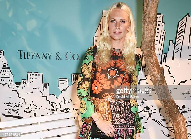 Poppy Delevingne attends the Tiffany Co immersive exhibition 'Fifth 57th' at The Old Selfridges Hotel on July 1 2015 in London England