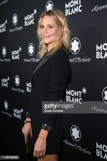 """Poppy Delevingne attends the """"To Berlin and Beyond with Montblanc: Reconnect To The World"""" launch event at Metropol Theater on April 24, 2019 in..."""