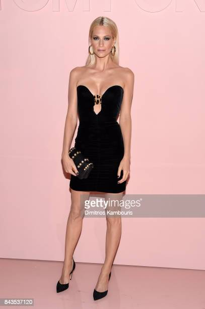 Poppy Delevingne attends the Tom Ford Spring/Summer 2018 Runway Show at Park Avenue Armory on September 6 2017 in New York City