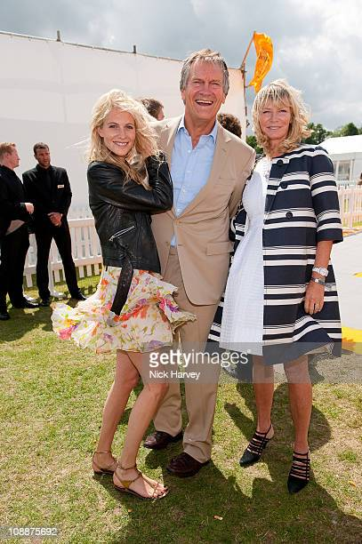 Poppy Delevingne Charles Delevingne and Pandora Delevingne attend the Veuve Clicquot Gold Cup Final on July 19 2009 in Midhurst England