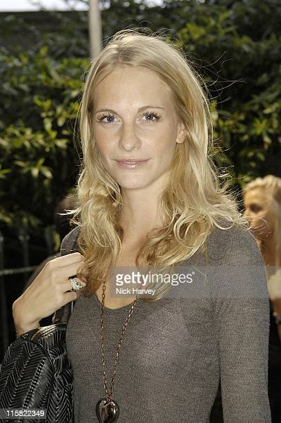 Poppy Delevingne during London Fashion Week Spring/Summer 2007 Westfield Launch Party Inside at BFC Tent Natural History Museum in London Great...