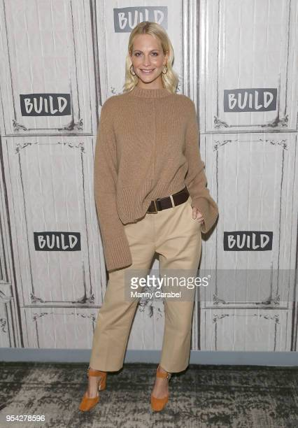 Poppy Delevingne visits Build Series at Build Studio on May 3 2018 in New York City