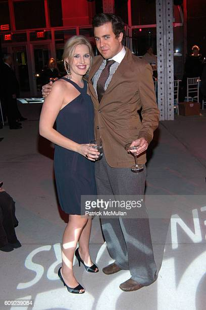 Poppy Harlow and Kristian Laliberte attend Design Industries Foundation Fighting Aids Celebrates the 10th Anniversary of Dining By Design at The...