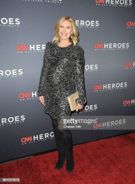 Poppy Harlow attends 11th Annual CNN Heroes An AllStar Tribute at American Museum of Natural History on December 17 2017 in New York City