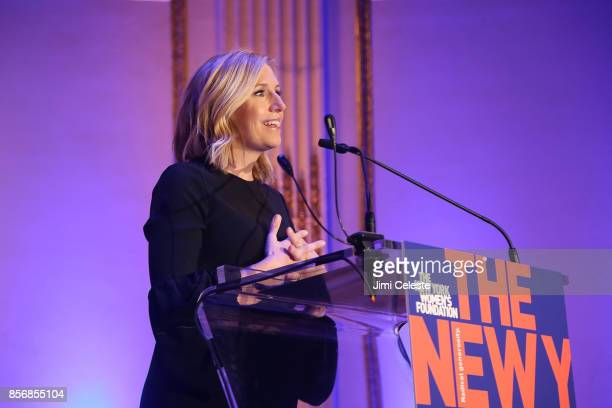 Poppy Harlow attends The New York Women's Foundation 2017 Fall Gala at The Plaza Hotel on October 2 2017 in New York City