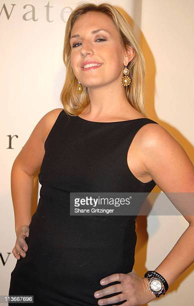 Poppy Harlow during Adrian Grenier and Jessica Stam Host a Charity Ball to Benefit African Well Projects at Metropolitan Pavilion in New York City...