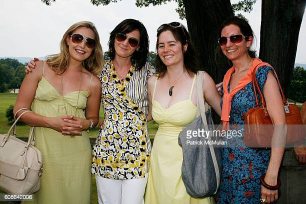 Poppy Harlow Stephanie Chassing Jada Yuan and Isabelle Kellogg attend Escape The City Picnic with RUINART Champagne at Vanderbilt Estate on June 25...