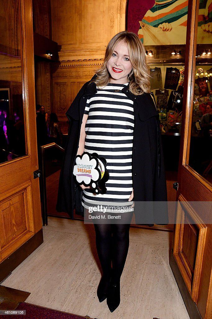 Poppy Jamie attends the VIP performance of 'Kooza' by Cirque Du Soleil at Royal Albert Hall on January 6, 2015 in London, England.
