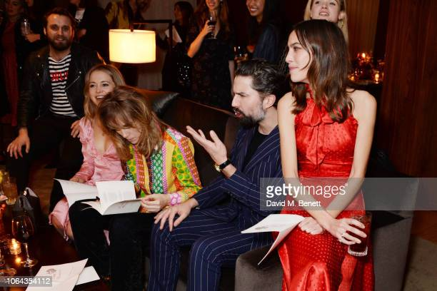 Poppy Jamie Suki Waterhouse Jack Guinness and Alexa Chung attend Alexa Chung's CHUNGSGIVING dinner to celebrate Thanksgiving and the launch of her...