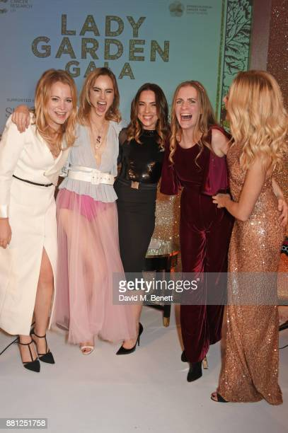 Poppy Jamie Suki Waterhouse Melanie C Chloe Delevingne and Clara Paget attend the Lady Garden Gala in aid of Silent No More Gynaecological Cancer...