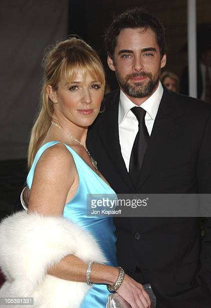 Poppy Montgomery and Adam Kaufman during 31st Annual People's Choice Awards Arrivals at Pasadena Civic Auditorium in Pasadena California United States