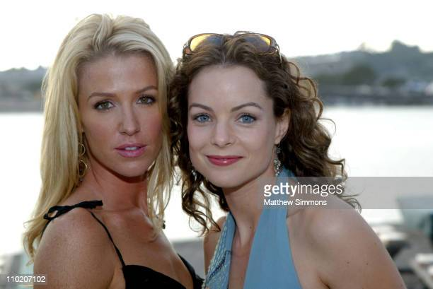 Poppy Montgomery and Kim Williams during Caribbean Nights to Benefit St Jude Children's Research Hospital August 28 2004 at Newport Dunes in Newport...