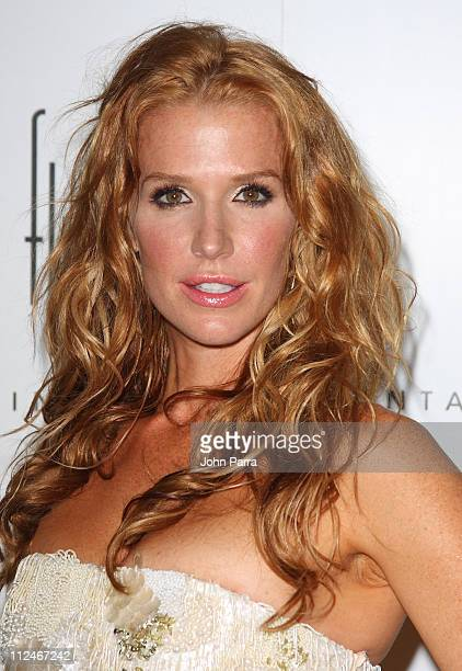 Poppy Montgomery arrives at the grand opening of Fontainebleau Miami Beach on November 14 2008 in Miami Beach Florida