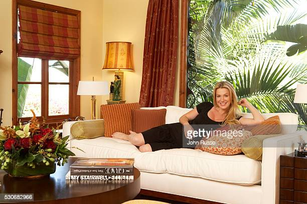 Poppy Montgomery at Home