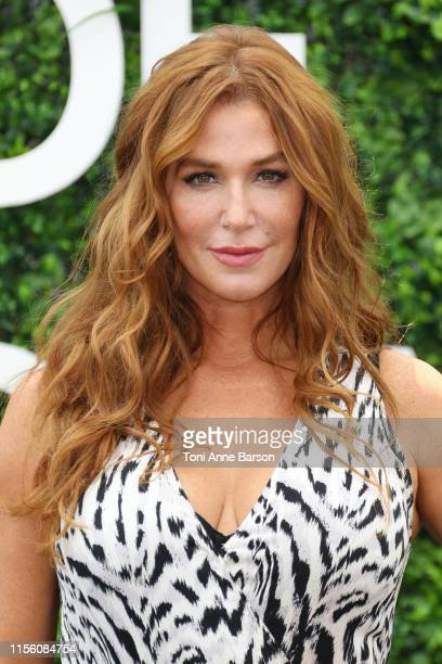 """Poppy Montgomery attends photocall for """"Reef Break"""" during the 59th Monte Carlo TV Festival on June 15, 2019 in Monte-Carlo, Monaco."""