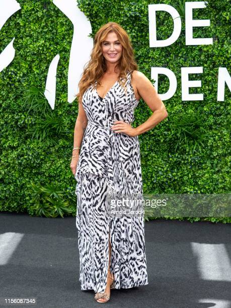 Poppy Montgomery attends 'Reef Break' photocall during the 59th Monte Carlo TV Festival Day Two on June 15 2019 in MonteCarlo Monaco