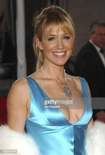 Poppy Montgomery during 31st Annual People's Choice Awards Arrivals at Pasadena Civic Auditorium in Pasadena California United States